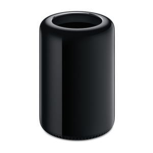 Mac Pro Black, 3,7 GHz Quad Core Inrtel Xeon e5, 16 GB 1866 MHz DDR3 ECC, 256 GB SSD