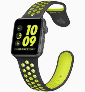 Apple Watch Watch 2 Sport 42mm, Gumowa , Wiek około: 6 miesięcy